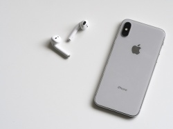 Smartfon iPhone X 256GB Silver srebrny (MQAD2PM/A)